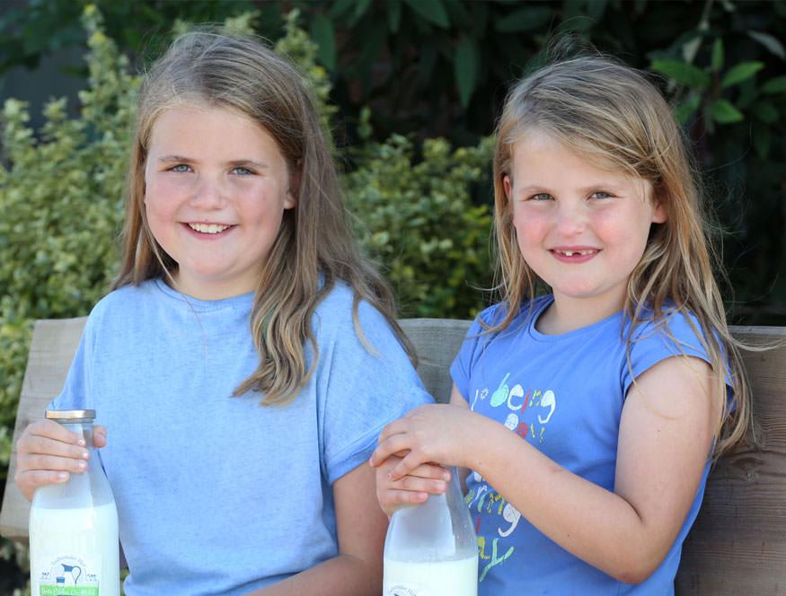 Milchprodukte, Eier und Gemüse in unserem Hofladen